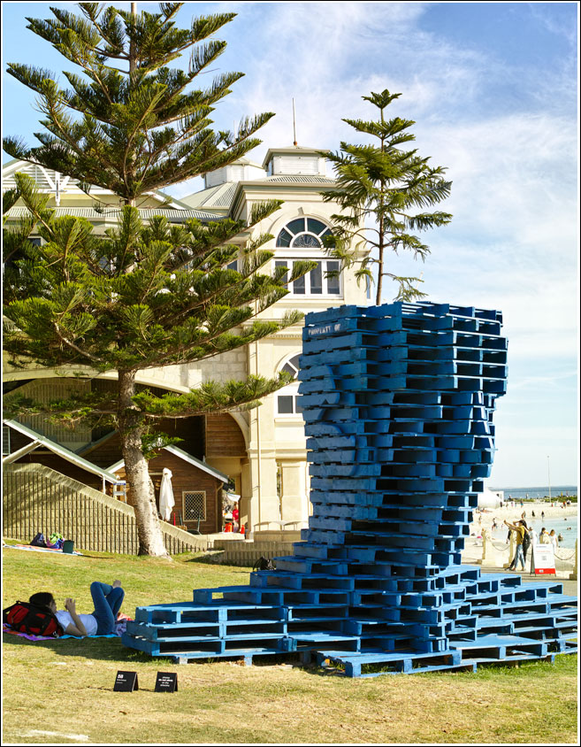 Sculpture by the sea Cottesloe Western Australia