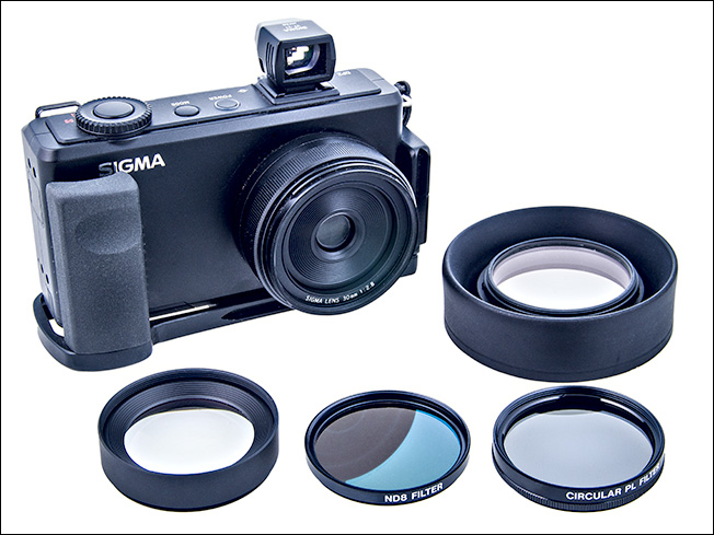 My medium format photography kit The Sigma DP2