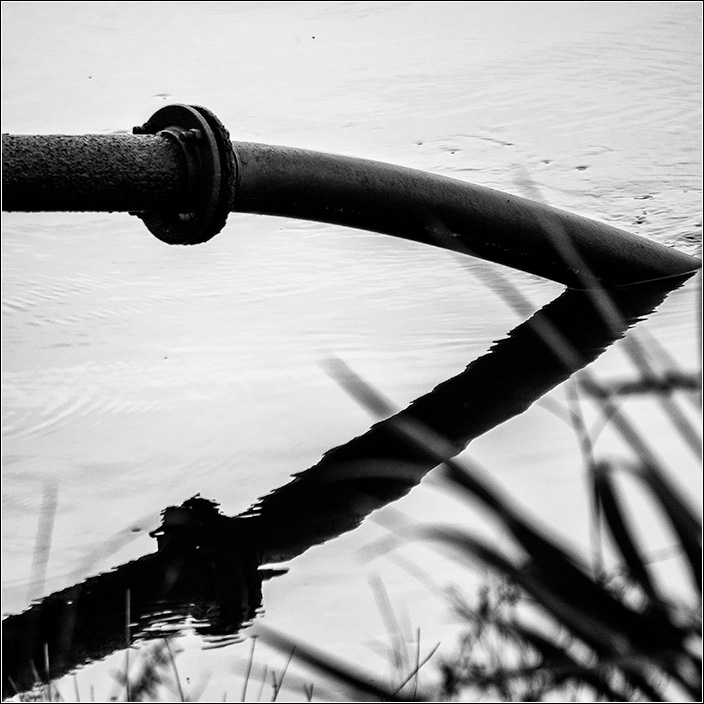 Pipework reflections at tailrace