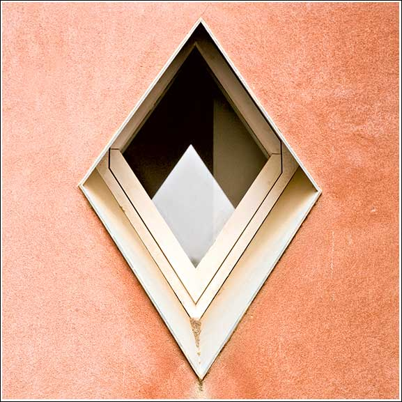 Diamond window in Barcelona