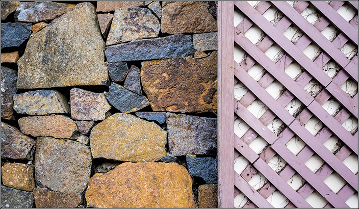 Dolerite and Lattice in the Cataract Gorge  Launceston Tasmania